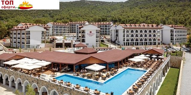 Почивка в  ДИДИМ - 7 нощувки на ALL INCLUSIVE в RAMADA RESORT HOTEL AKBUK 4+* на ТОП цена!