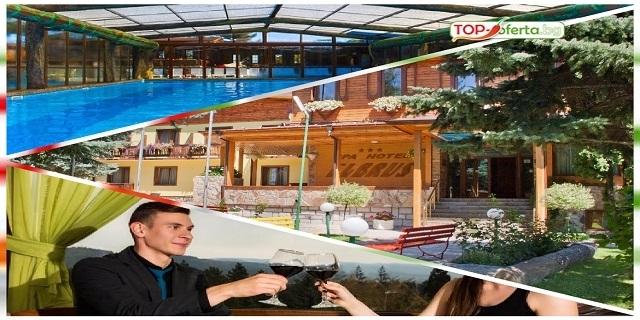 LAST MINUTE: Нощувка със закуска и вечеря + 1 процедура +  в СПА Хотел Елбрус 3*, Велинград! + Атракционен вътрешен минерален басейн с гейзери, водопади и подводен масаж+ СПА!