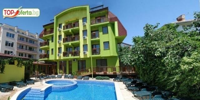 Почивка или Празници в хотел Грийн 3*, Хисаря! Нощувка, закуска + Вътрешен топъл басейн и релакс зона на ТОП цена!