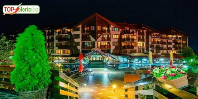 Почивка в хотел Белведере Холидей Клуб 4* , Банско! Нощувка на база All Inclusive в апартамент + дете до 5.99 Безплатно + вътрешен басейн и Уелнес пакет!