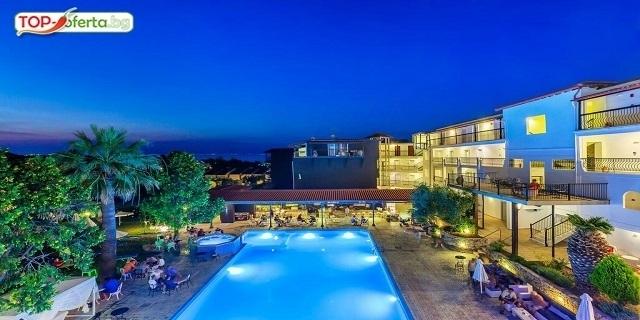 РАННИ ЗАПИСВАНИЯ:  Kriopigi Hotel 4*, Kриопиги, Касандра, Гърция! Нощувки на база ALL INCLUSIVE + басейн + Анимация + Wi-Fi!