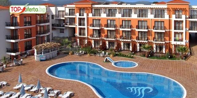 Лято 2019 в Черноморец! Нощувка със закуска + басейн и шезлонг, от Хотел Коста Булгара 3* на ТОП цена!