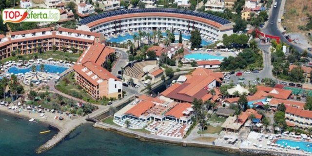 7 нощувки на база All Inclusive в Ephesia Holiday Beach Club 5*, Кушадасъ, Турция! Лицензиран автобусен транспорт + Аквапарк + Анимация!