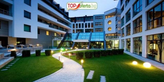 Почивка и Релакс в SPA хотел Персенк 5*, Девин! Уикенд нощувка със закуска и вечеря  + 1 Солна терапия + Welcome drink  + Вътрешен минерален басейн и СПА център!