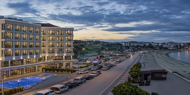 LAST MINUTE!!! НОВА ГОДИНА в Hampton by Hilton Canakkale Gallipoli 4*, Чанакале, Турция! 3 нощувки със закуски и вечери на блок маса, Гала вечеря на 31.12 с включени неограничени местни алкохолни и безалкохолни напитки!