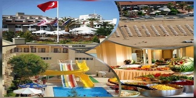 Ранни записвания Турция 2020!7 нощувки на база ALL INCLUSIVE в BUYUK BERK HOTEL 4*, Айвалък, Турция! + собствен плаж + чадъри и шезлонги на плажа+ басейн + анимация !