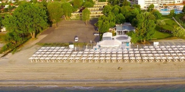 LAST MINUTE  в Bomo Olympus Grand Resort 4*+ Олимпийска Ривиера, Гърция: 3 нощувки на база Ultra All Inclusive + на брега на морето + чадъри и шезлонги на плажа + детска анимация!