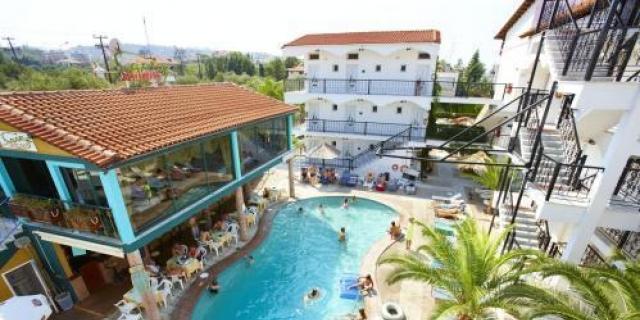 Лятна почивка в Grand Victoria 3*, Халкидики, Ханиоти, Гърция! 3 нощувки на база  All Incluzive на човек!