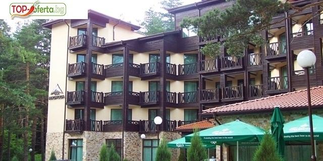 Почивка на планина, район Сапарева баня! Нощувка със закуска и вечеря + СПА зона на ТОП цена в Хотел Магнолия 3*, Паничище!