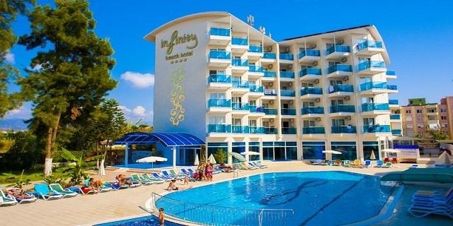 7 нощувки на база All Inclusive в INFINITY BEACH HOTEL 4*,Алания, Анталия, Турция! На брега на морето + анимация!